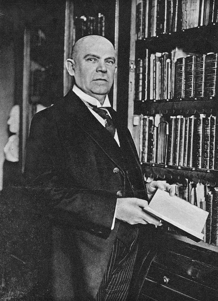 Dr. Bogdan Krieger (1863–1931). Quelle: Sabine Hahn