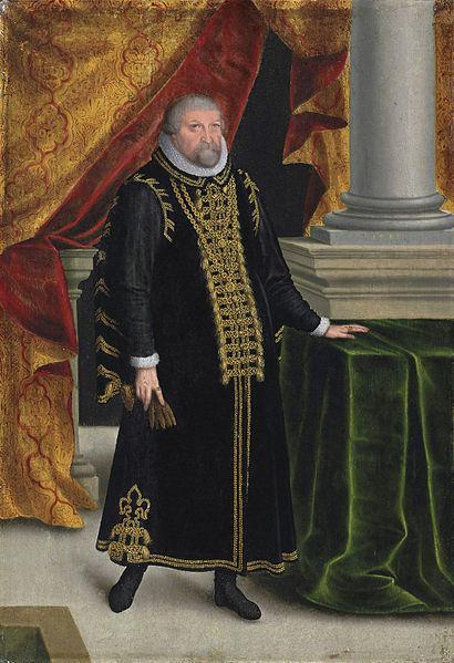 Zacharias Wehme: Kurfürst Johann Georg von Brandenburg, 1585. Quelle: SPSG