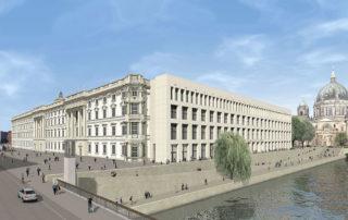 Das Gebäude – mit drei rekonstruierten barocken Flügeln und dem modernen Spreeflügel. Quelle: Franco Stella