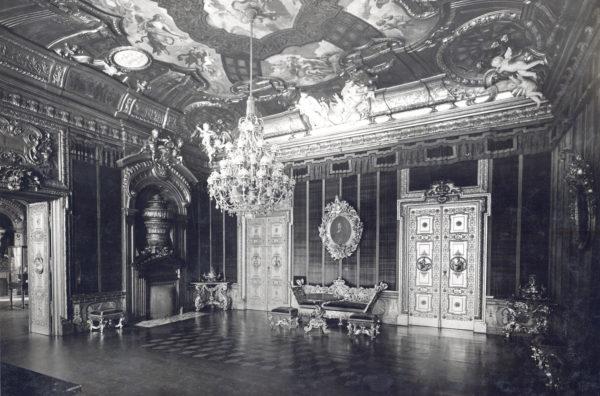 Rote Samtkammer, um 1935