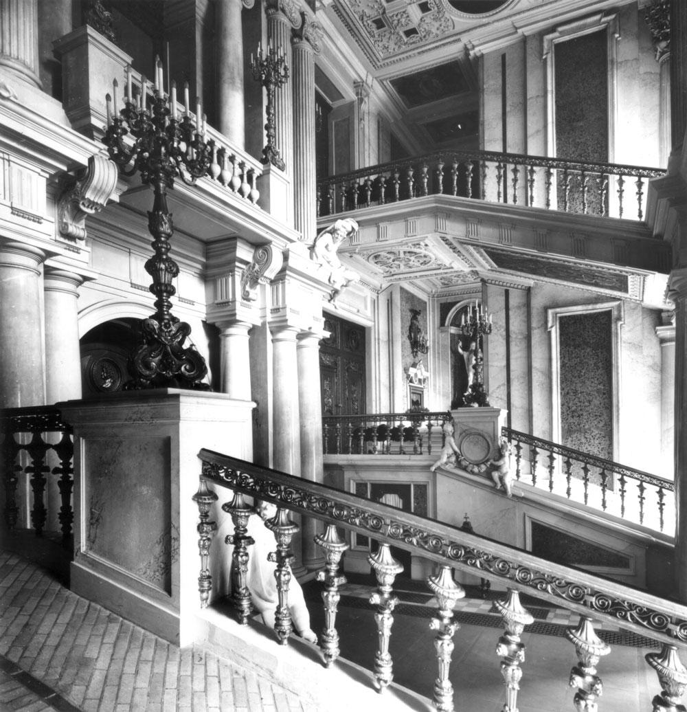 Das Große Treppenhaus, Blick nach Süden