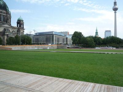 Temporäre Umgestaltung des Schlossareals, 2009
