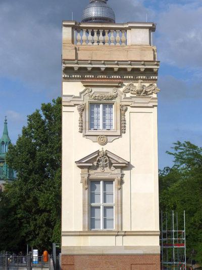 Musterfassade des Berliner Schlosses, 2012
